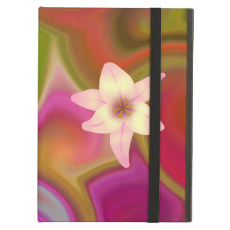 Colorful Floral Design iPad Cover