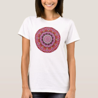 Colorful Floral Mandala Kaleidoscope T-Shirt