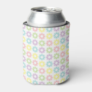 Colorful floral pattern can cooler
