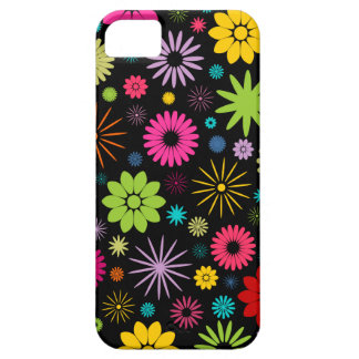 Colorful Floral Pattern Design iPhone 5 Case