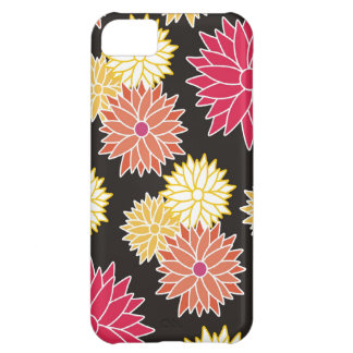 Colorful Floral Pattern iPhone 5C Case