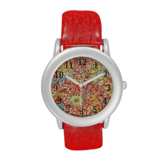 Colorful Floral Watch