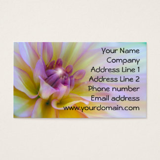 Colorful Flower Business Card