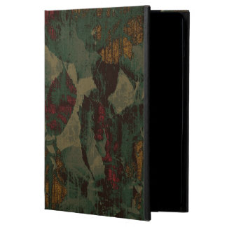 Colorful flower camouflage pattern case for iPad air
