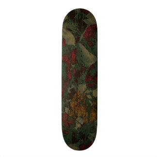 Colorful flower camouflage pattern skateboards