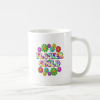 Colorful Flower Child Mugs