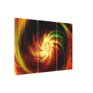 Colorful Flower Fantasy Art Design Abstract Canvas Prints