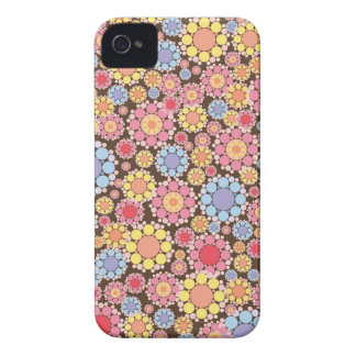 Colorful Flower Floral Pattern iPhone 4 CaseMate iPhone 4 Case-Mate Cases