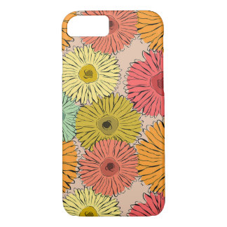Colorful Flower Iphone 7 Phone Case