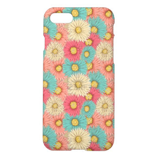 Colorful Flower Matte Iphone 7 Case