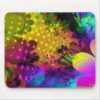 Colorful Flower Mousepad