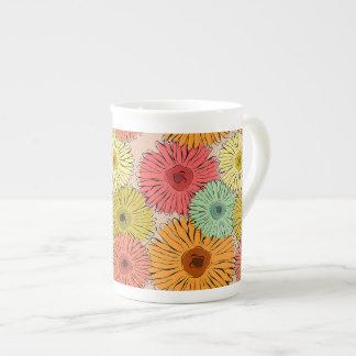 Colorful Flower Mug
