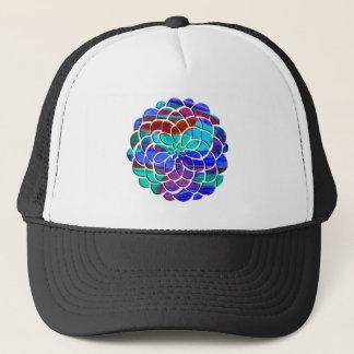 Colorful Flower Trucker Hat