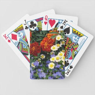 Colorful Flowerbed Card Decks