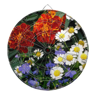 Colorful Flowerbed Dart Boards