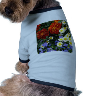 Colorful Flowerbed Dog Clothes