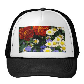 Colorful Flowerbed Mesh Hat