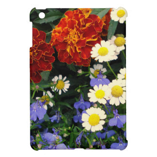 Colorful Flowerbed iPad Mini Cover
