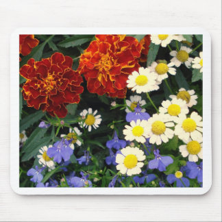 Colorful Flowerbed Mousepad