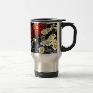 Colorful Flowerbed Mugs