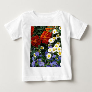 Colorful Flowerbed T Shirts