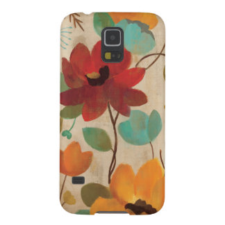 Colorful Flowers and Buds Case For Galaxy S5