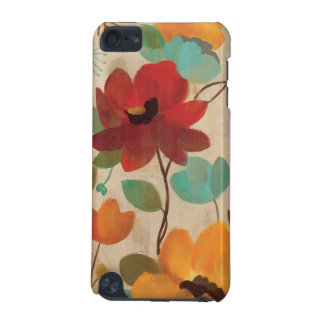 Colorful Flowers and Buds iPod Touch (5th Generation) Covers