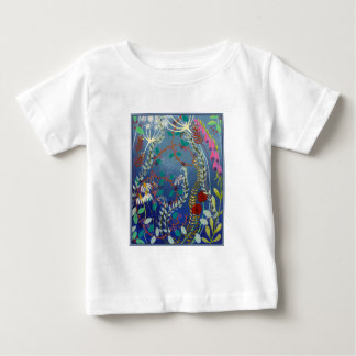 Colorful Flowers. Baby T-Shirt