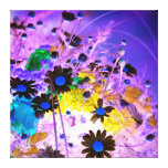 Colorful flowers canvas prints