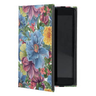 Colorful Flowers Collage Hand Illustration Cover For iPad Mini