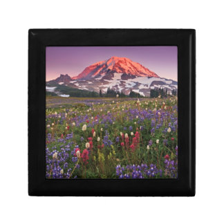 Colorful Flowers in Rainier National Park Gift Box