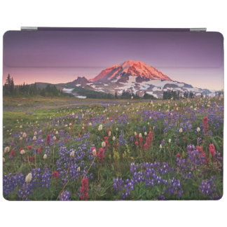 Colorful Flowers in Rainier National Park iPad Cover