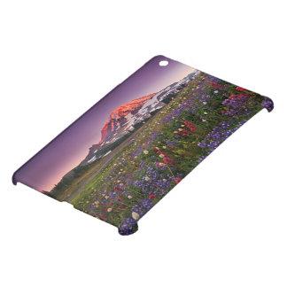 Colorful Flowers in Rainier National Park iPad Mini Cover