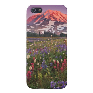 Colorful Flowers in Rainier National Park iPhone 5 Cases