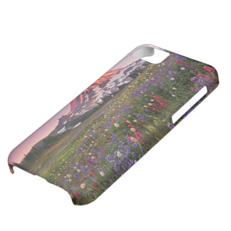 Colorful Flowers in Rainier National Park iPhone 5C Case