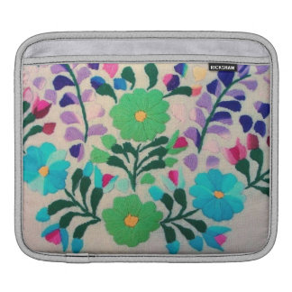 Colorful Flowers Pattern iPad Sleeve