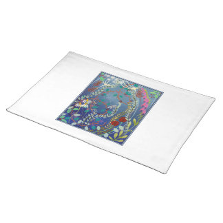 Colorful Flowers. Placemat