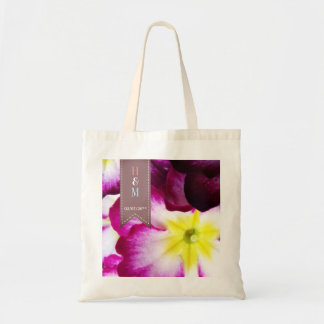Colorful Flowers Tote for Wedding Guests