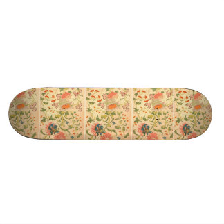 Colorful Flowers Wonderland 19.7 Cm Skateboard Deck