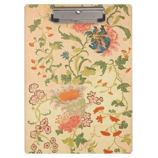 Colorful Flowers Wonderland Clipboard