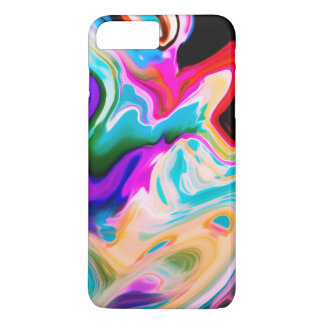 Colorful Flowing Marble Swirls iPhone 8 Plus/7 Plus Case