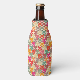 Colorful Fox Bottle Coozy