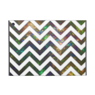 Colorful Fractal Chevron Cases For iPad Mini