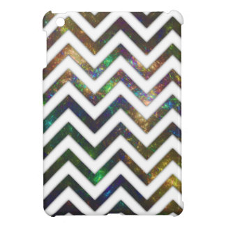 Colorful Fractal Chevron Cover For The iPad Mini
