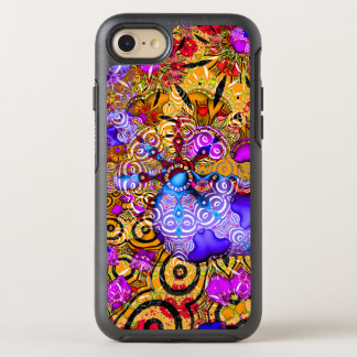 Colorful Fractal Hodgepodge OtterBox Symmetry iPhone 8/7 Case