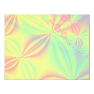 Colorful Fractal Pattern. Card