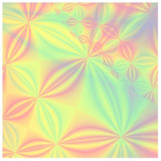 Colorful Fractal Pattern. Photo Sculpture Badge