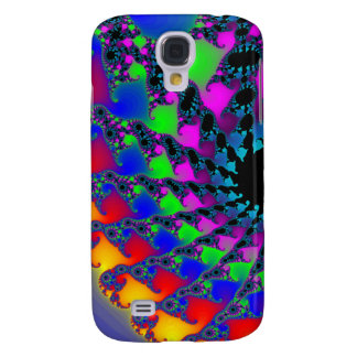 Colorful Fractal Spirals: Galaxy S4 Case