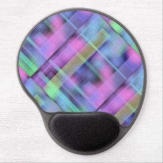 Colorful fractals Gel Mousepad