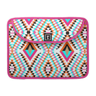 Colorful Fresh Geometric Triangle Graphic Sleeve For MacBook Pro